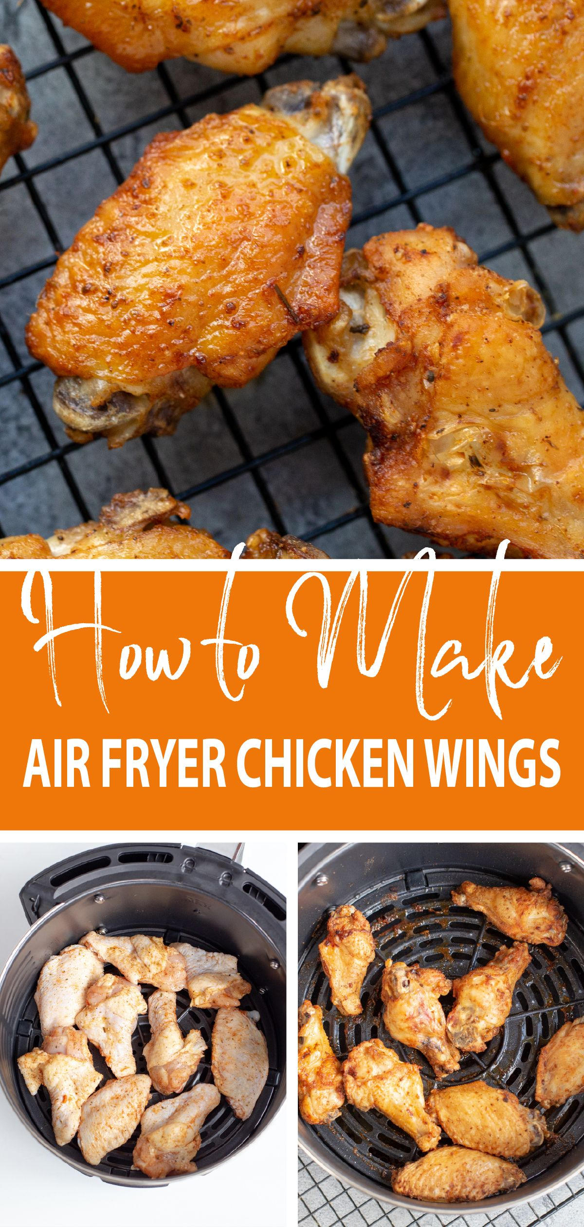 Do you want to know how to make air fryer chicken wings