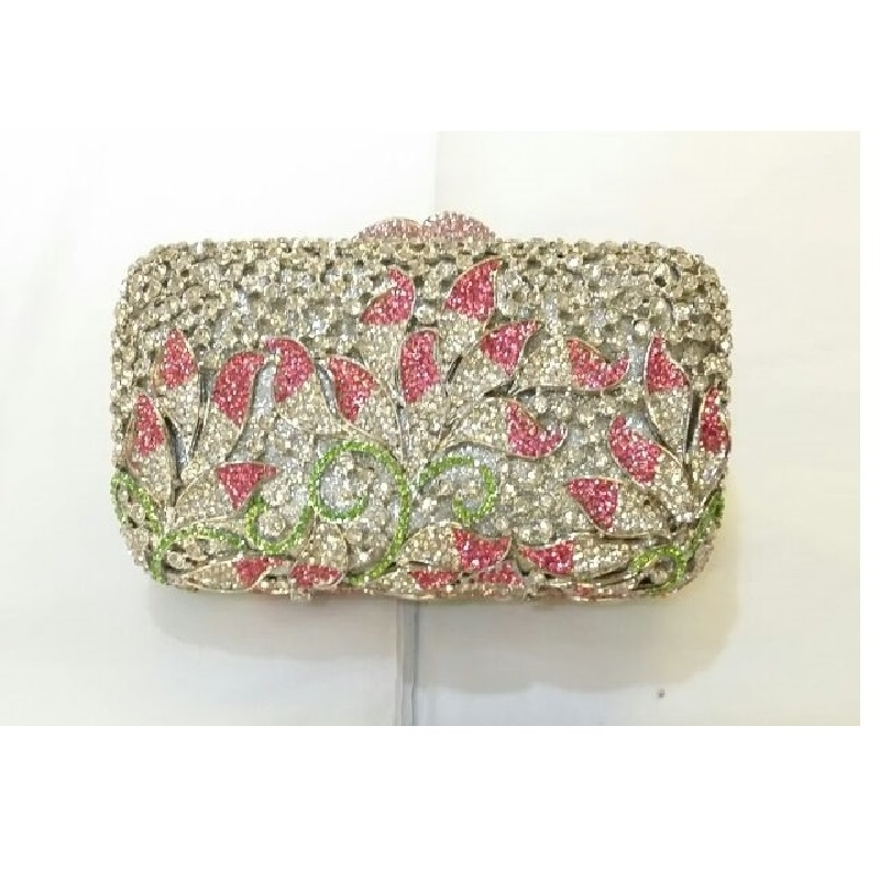 69.00$  Watch here - http://aiqza.worlditems.win/all/product.php?id=32794027899 - 8308A Crystal Lady Fashion Wedding Bridal Party Night hollow Metal Evening purse clutch bag box handbag case