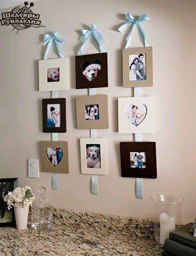 Создаем стильную фото-композицию на стене (с изображениями ...