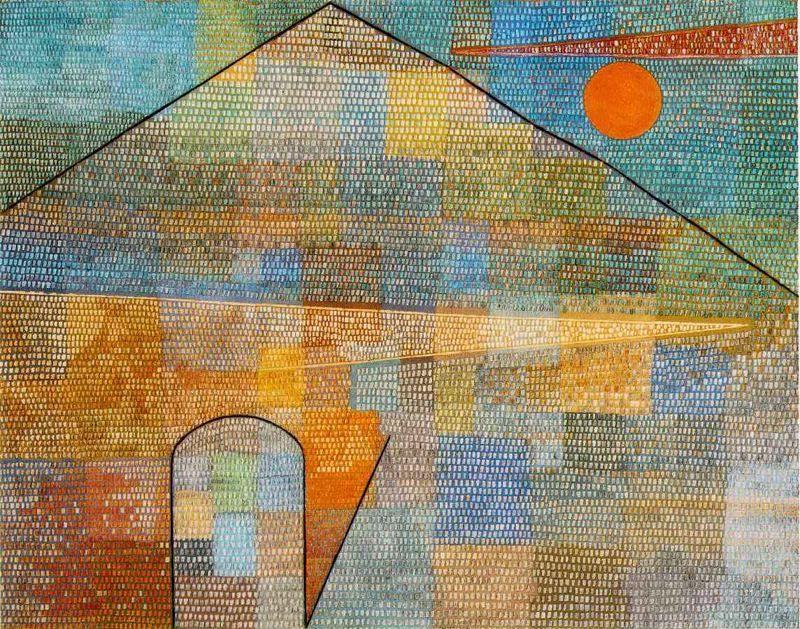 Ad Parnassum. 1932. Obra de Paul Klee