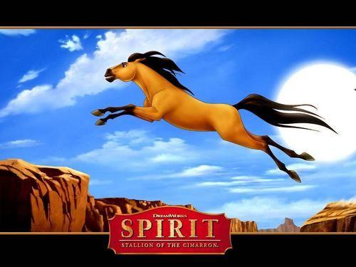 Spirit Stallion Of The Cimarron Wallpaper Spirit Jumping Spirit The Horse Good Animated Movies Spirit And Rain