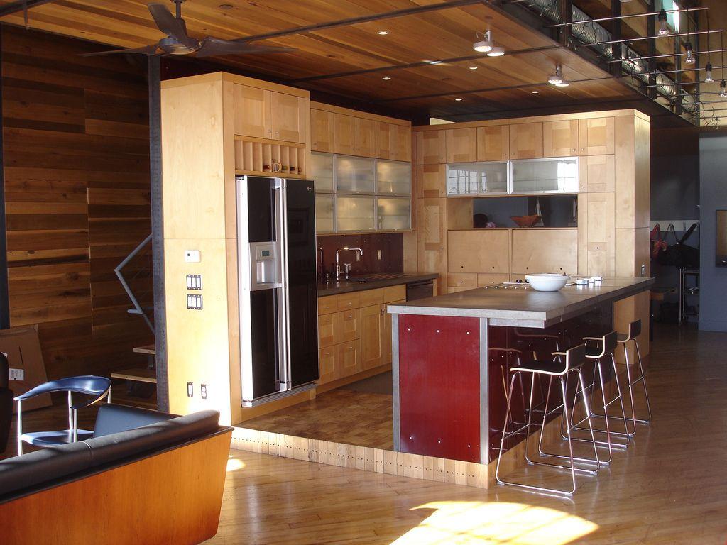 Superb 9X9 Kitchen Design   Open Kitchen Interior Design
