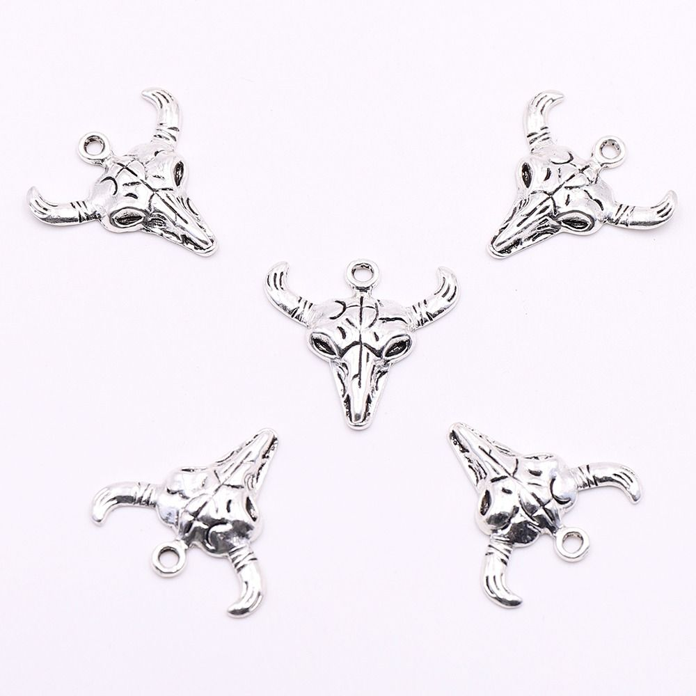 DIY Charms Unicorn Crafts Pendants Tibetan Silver Jewellery Making Accessories