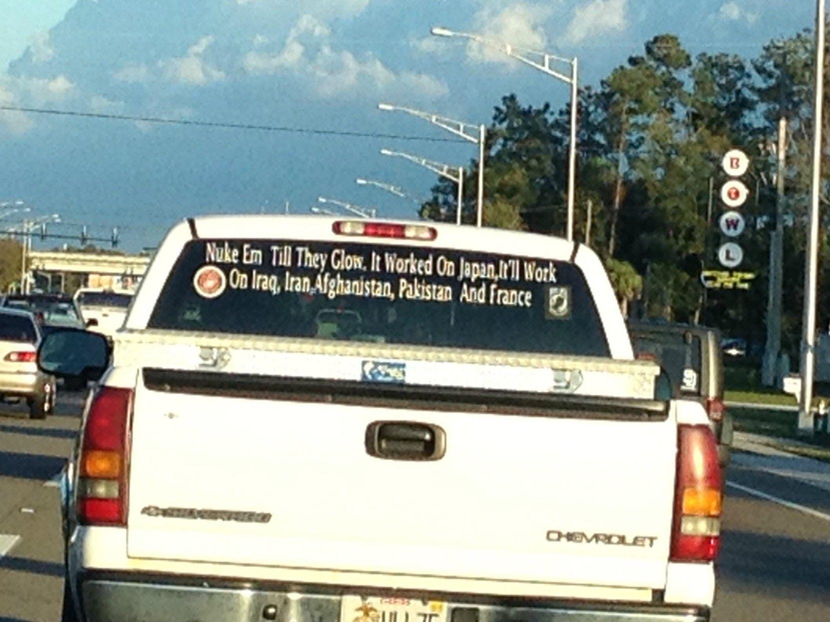 Rated R Redneck Bumper Sticker Redneckified Pinterest - Redneck window decals for trucks