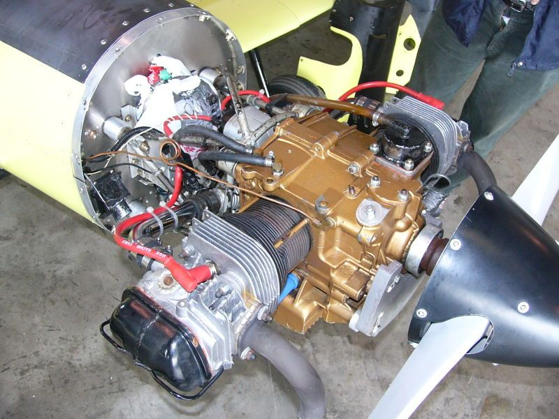 This Is A 12 Vw Engine That's Right They Cut The In Half