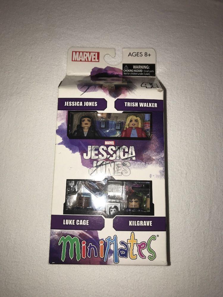 Marvel Minimates Netflix Original Jessica Jones Series 1 Box Set