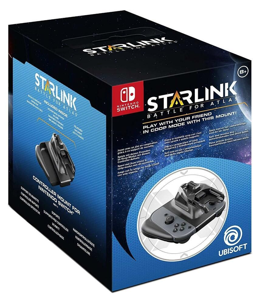 Multiplayer Co Op Nintendo Switch Joycon Controller Mount For Starlink Game Nsw Ubisoft Controllersattachments Nintendo Switch Nintendo New Video Games