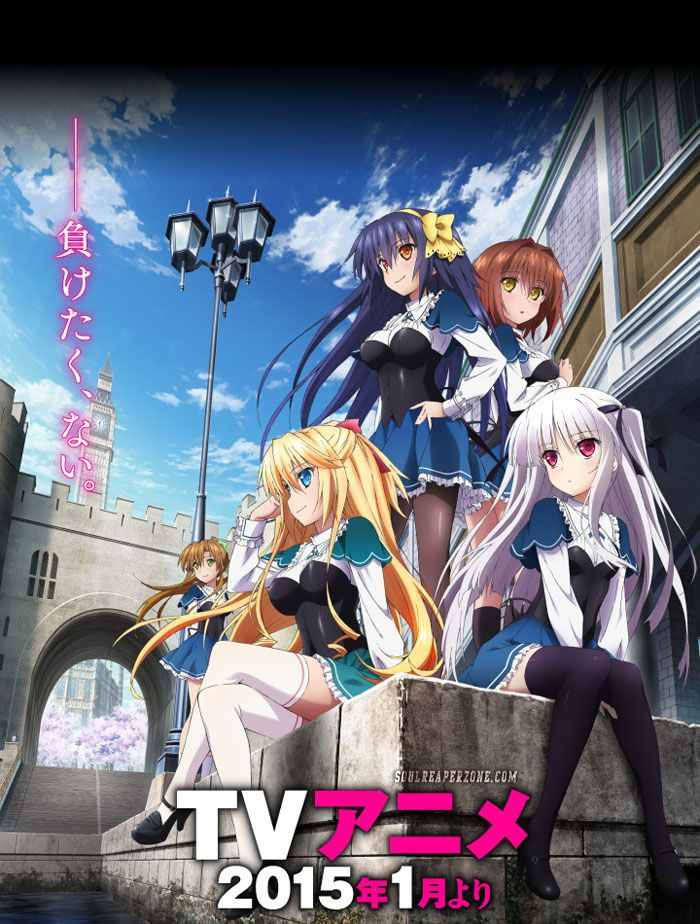 The Random Review Absolute Duo Anime Absolute duo