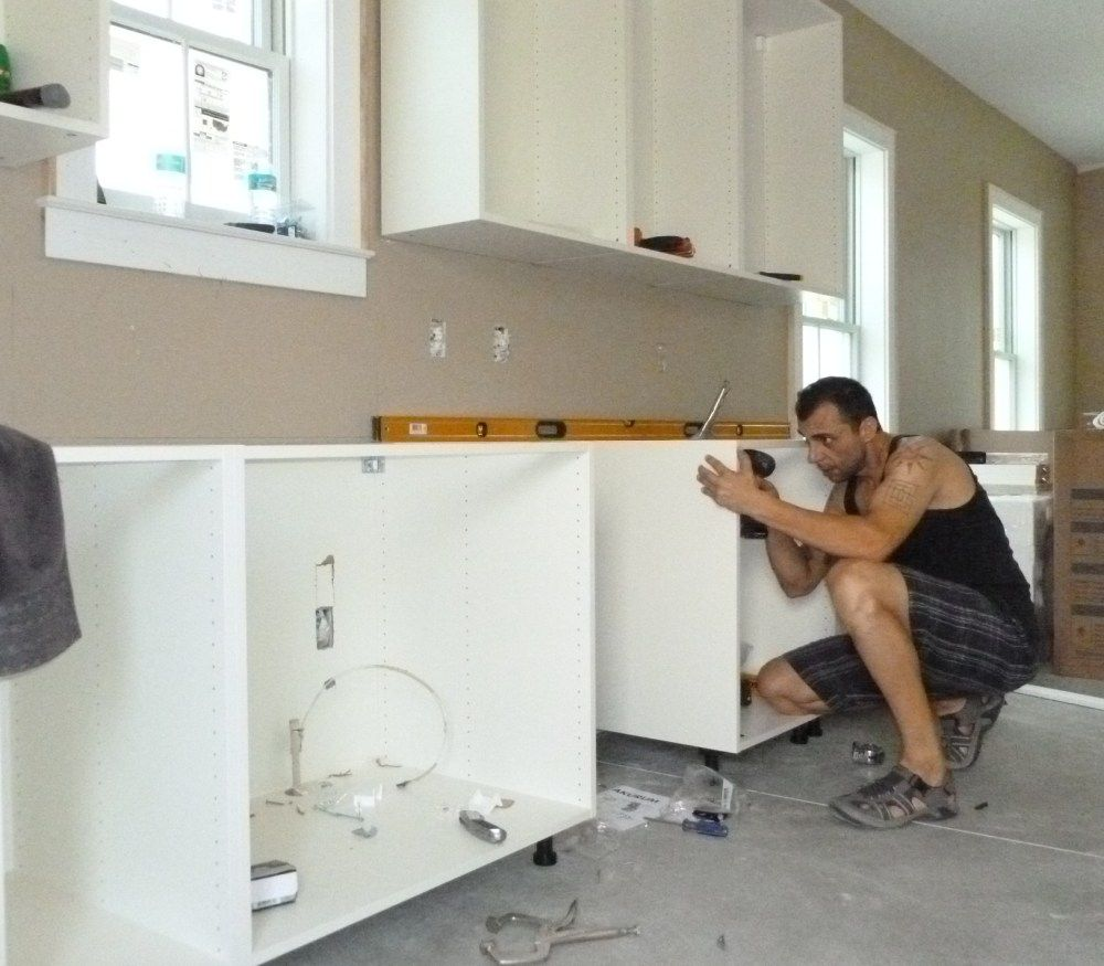 Installing Kitchen Cabinets Over Baseboard Heat ...