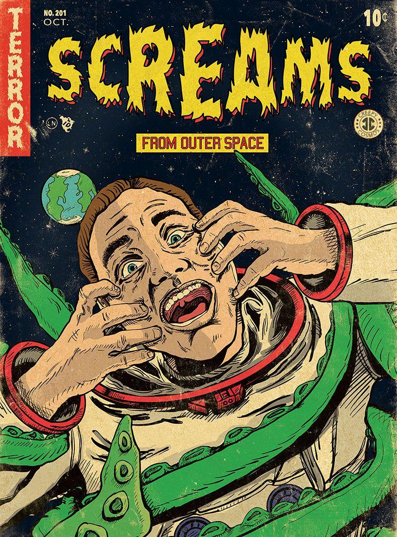 Old sci fi comics