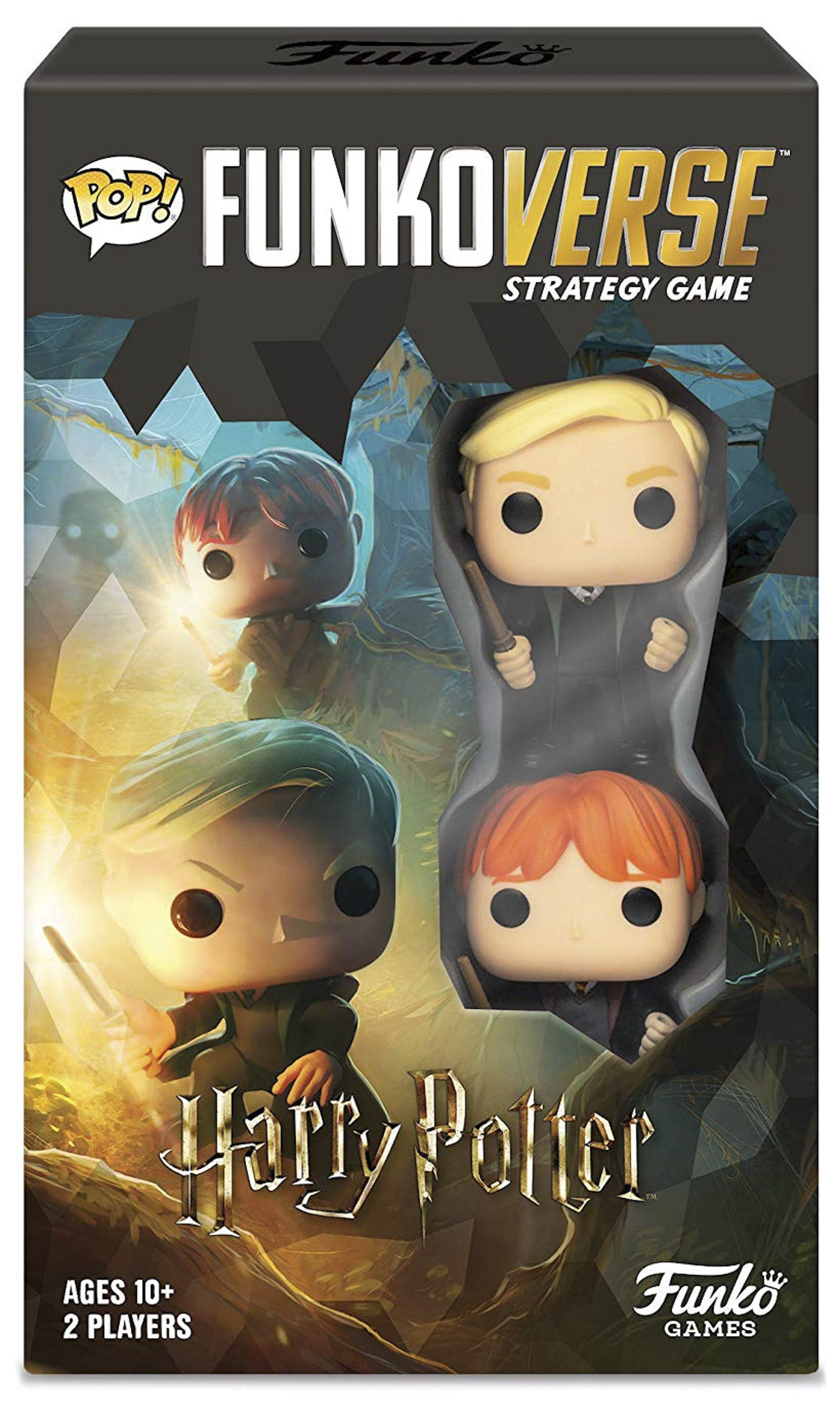 Funko Pop Just Released Its First Ever Board Games Featuring Harry Potter Dc And More Strategy Games Harry Potter Harry Potter Ron Weasley