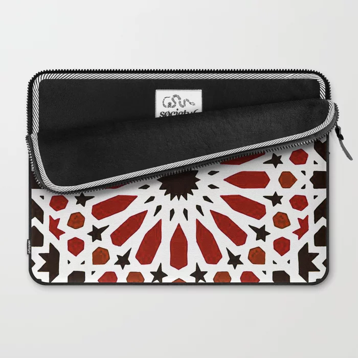 More Than Just Premium Protection Our Form Fitting Laptop Sleeves Make A Statement Featuring Bold Artwork Rich Tile Artwork Traditional Tile Laptop Sleeves