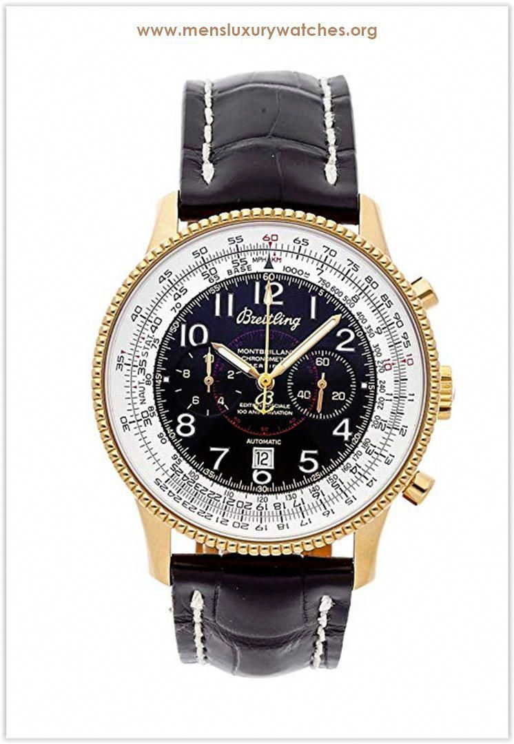 Breitling Navitimer Mechanical Automatic Black Yellow Dial Men S