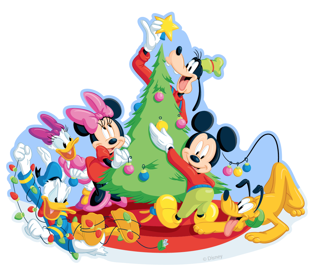 Mickey & Friends Christmas Tree Topper