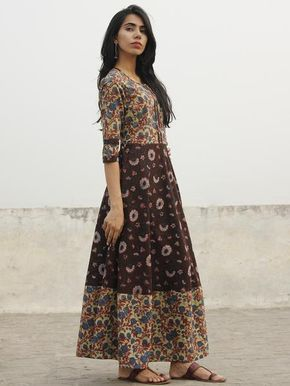 3a84865d8 Buy Authentic Hand Block Printed Designer Dresses, Sarees, Dupattas printed  in natural & vegetable colors at InduBindu.com.✻ 100% Authentic ✻ COD ✻  Easy ...