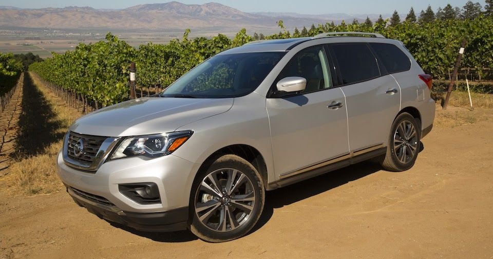 First Drive 2017 Nissan Pathfinder Tries To Keep Up With