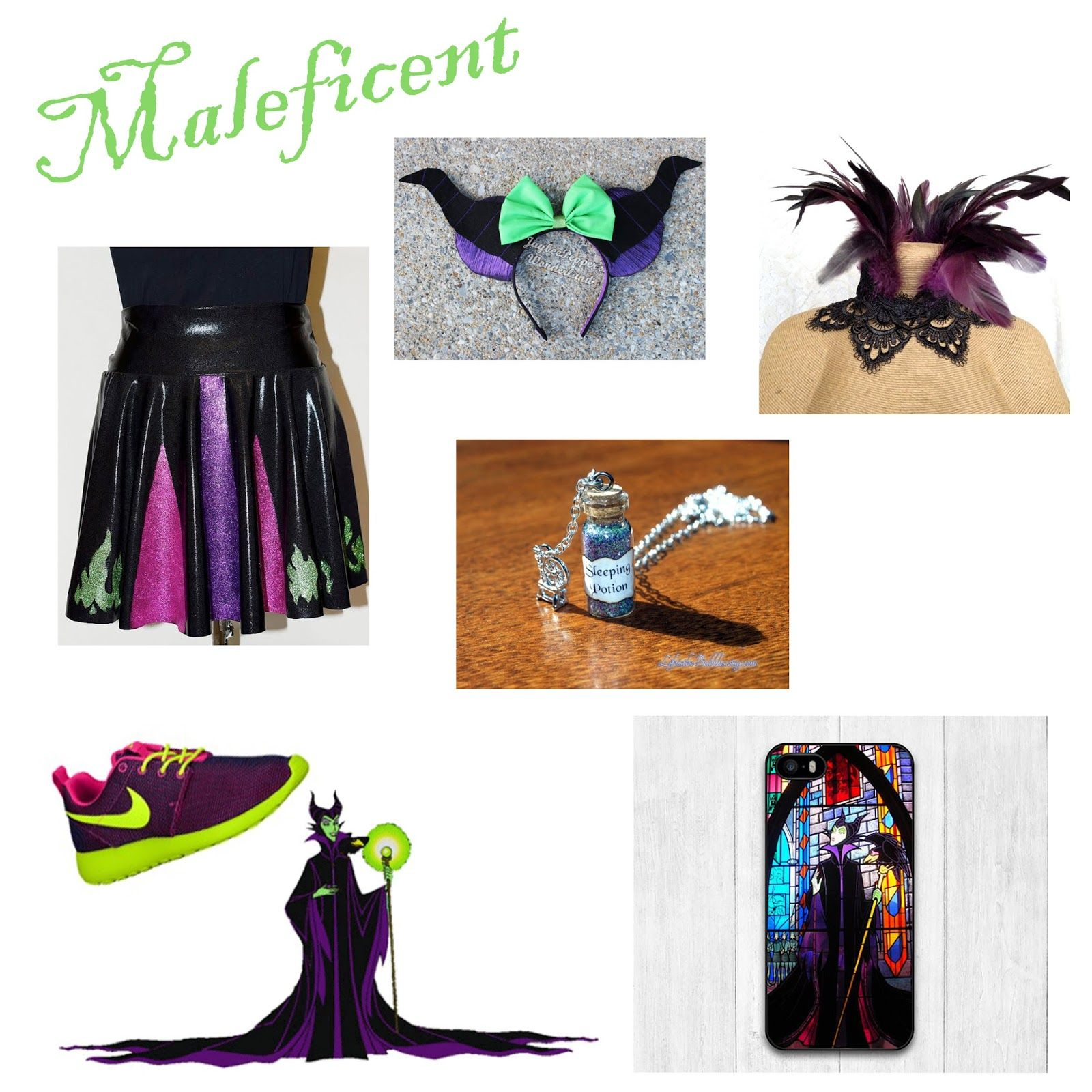 Maleficent Costume For Rundisney Disney
