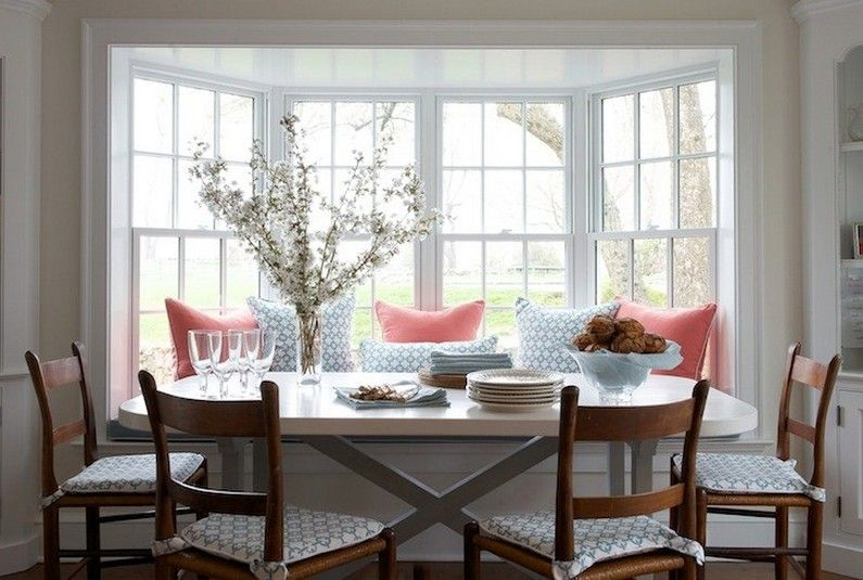 Kitchen Table For Bay Window Area With Chandelier Latest Home Furniture Window Seat Design Window Seat Window Seat Storage