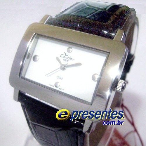 aecc96724b1 KV35569P Relógio Condor New Pulseira de Couro