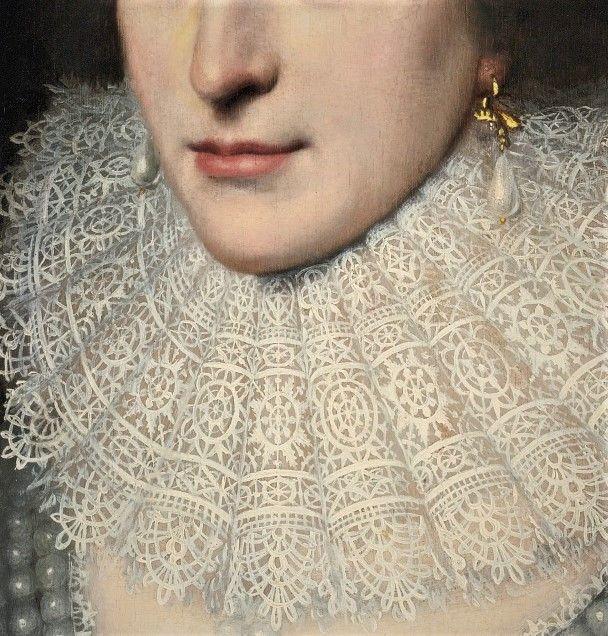 Elizabeth, Queen of Bohenia by Michiel Jansz.van Miereveldt