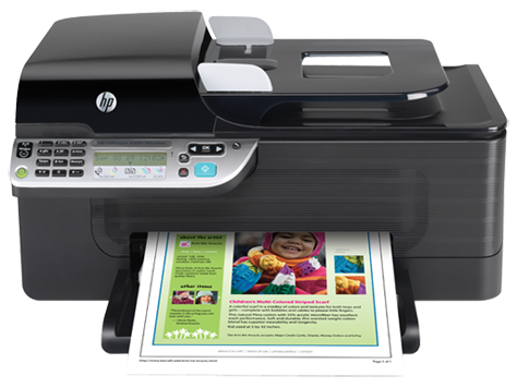 Hp Officejet 4500 Wireless All In One Printer G510n Driver Downloads Hp Customer Support Hp Officejet Hp Printer Printer