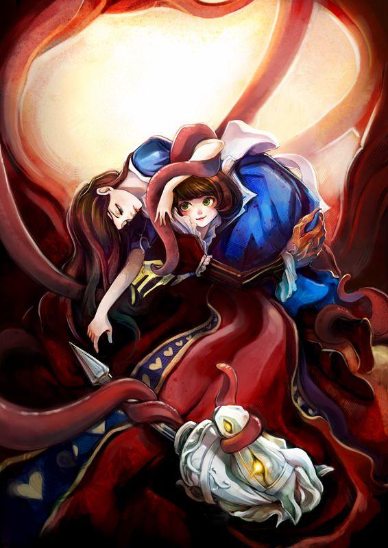 Queen Of Hearts American Mcgee 39 S Zerochan Anime Image