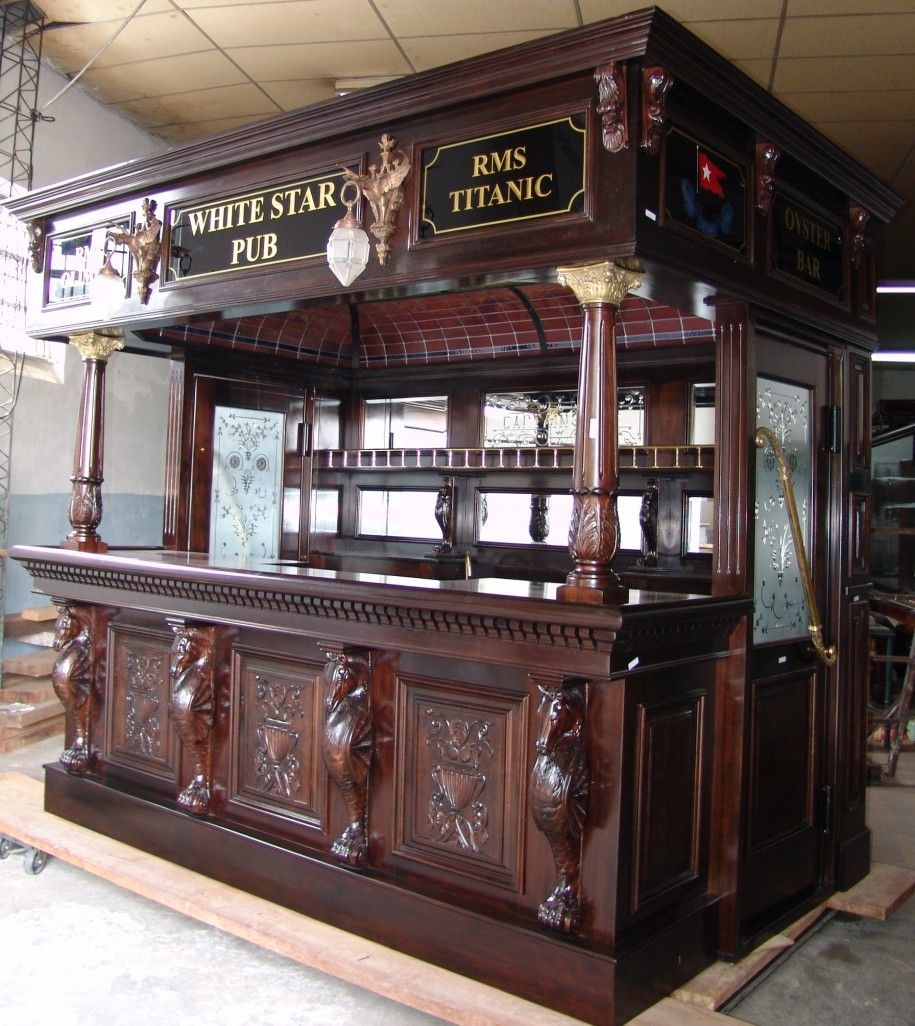 Irish Pub Decorating Ideas: Best Home Bar Design To Build ...