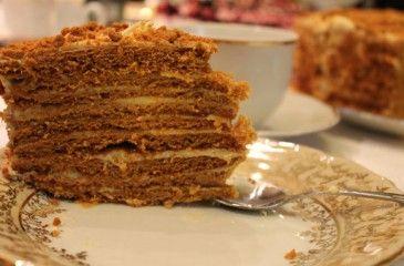 торт рыжик рецепт с фото в домашних условиях
