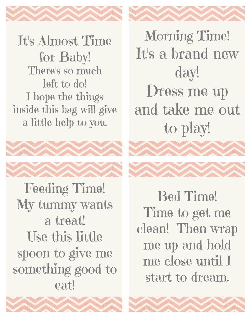Time for baby shower gift free printable gift tags basket time for baby shower gift idea free printable gift tags negle Image collections