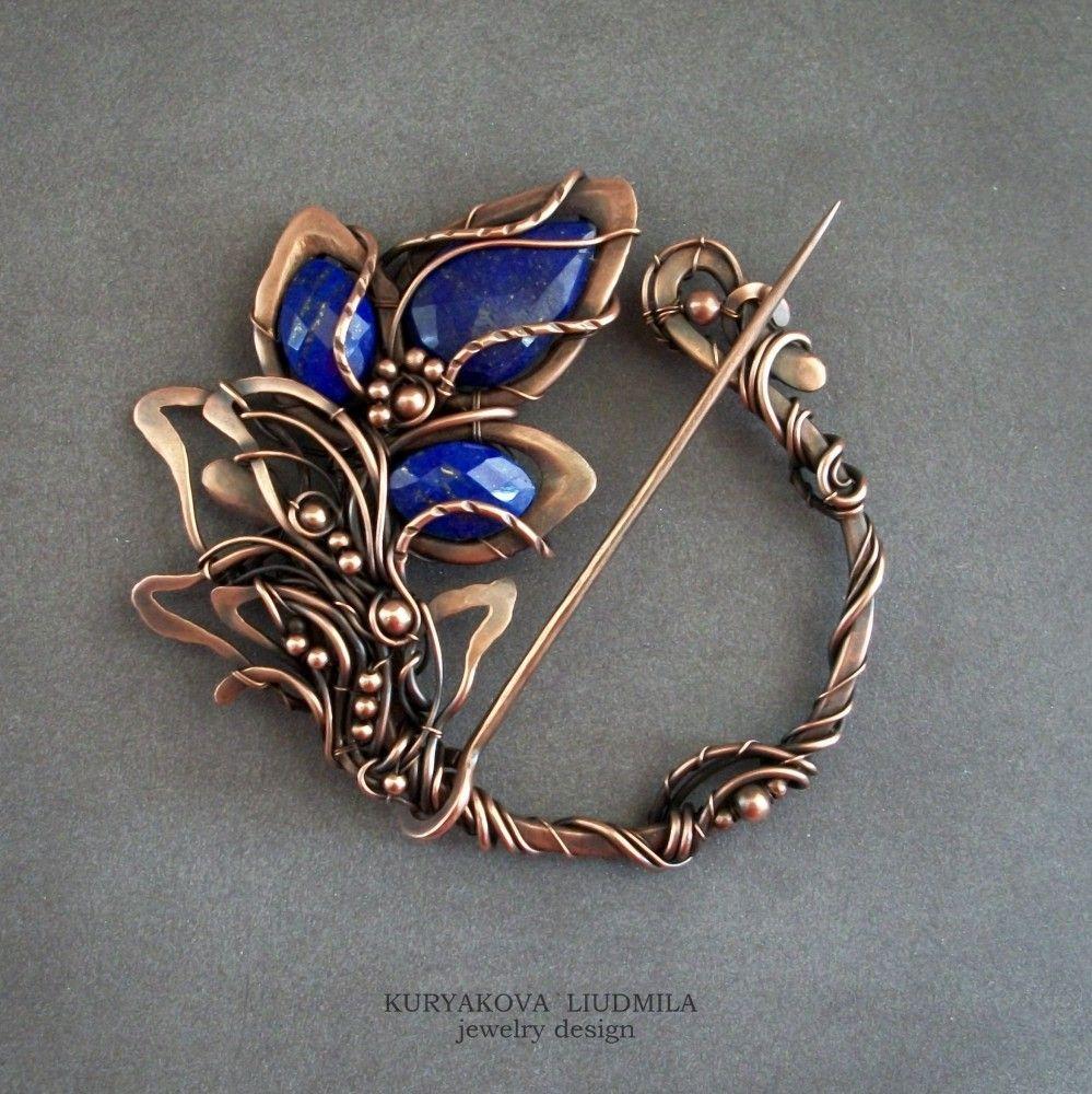 scrapbook diy jewelry wirework pinterest schmuck brosche und draht. Black Bedroom Furniture Sets. Home Design Ideas