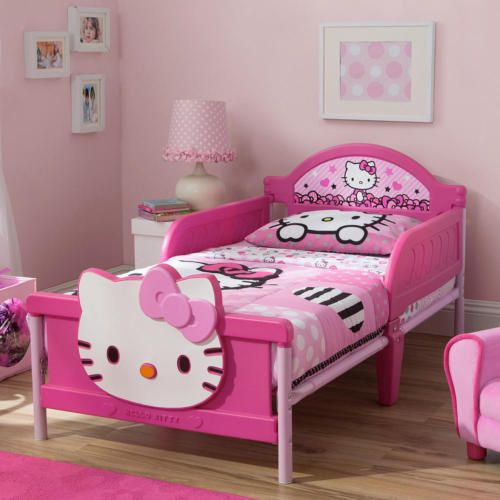Hello Kitty 3d Toddler Bed Pink Pink Bedding Hello Kitty
