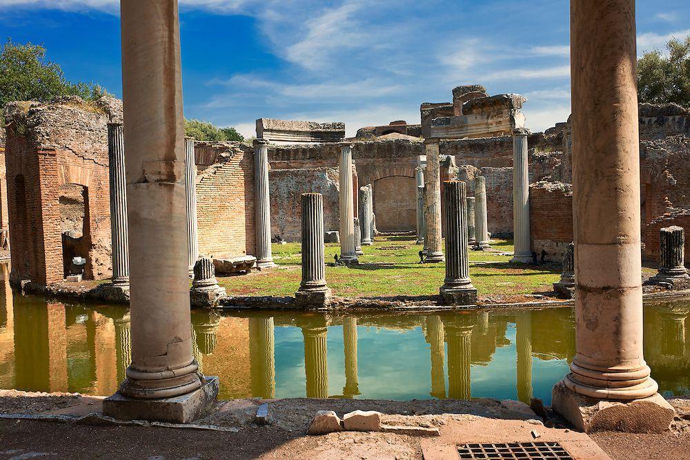 Pictures of  Hadrian's Villa,  Italy - Stock Photos | Photos Gallery