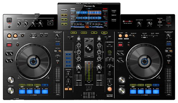 pioneer dj unveiled its new all in one rekordbox dj controller on tuesday morning the xdj rx. Black Bedroom Furniture Sets. Home Design Ideas