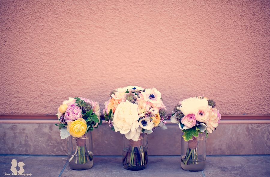 Bridal Bouquet Holders (during Reception)