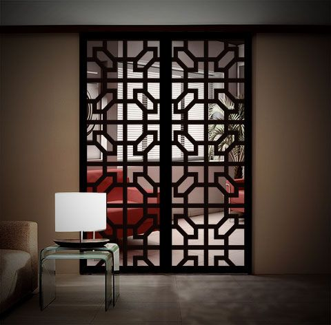 Oriental Design 1 Grill Door Design Decor Wrought Iron