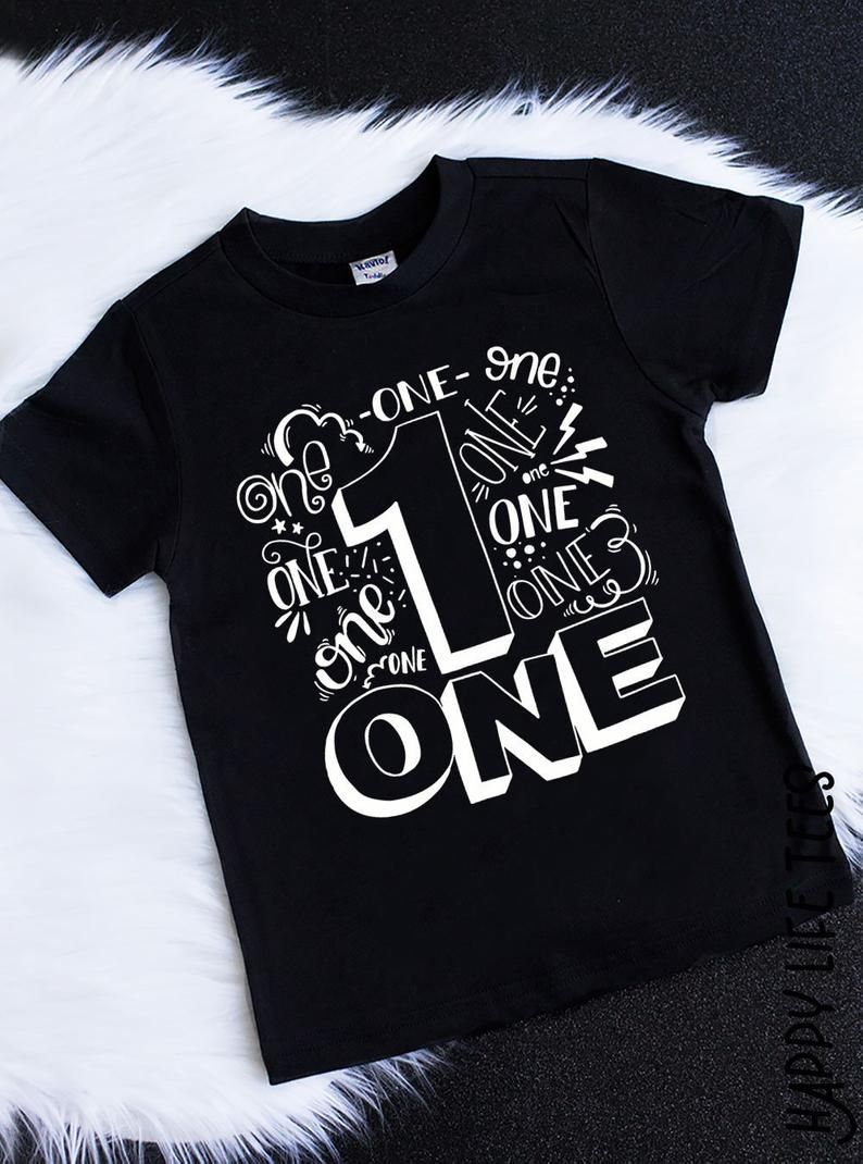 First Birthday Shirt ONE Birthday Shirt One Shirt