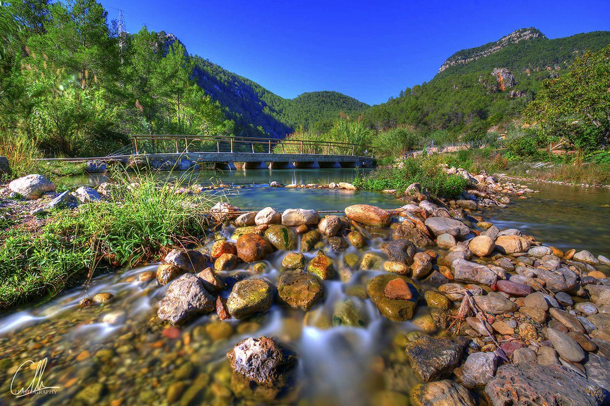Fuente De Los Banos Montanejos Piscinas Naturales Cascadas