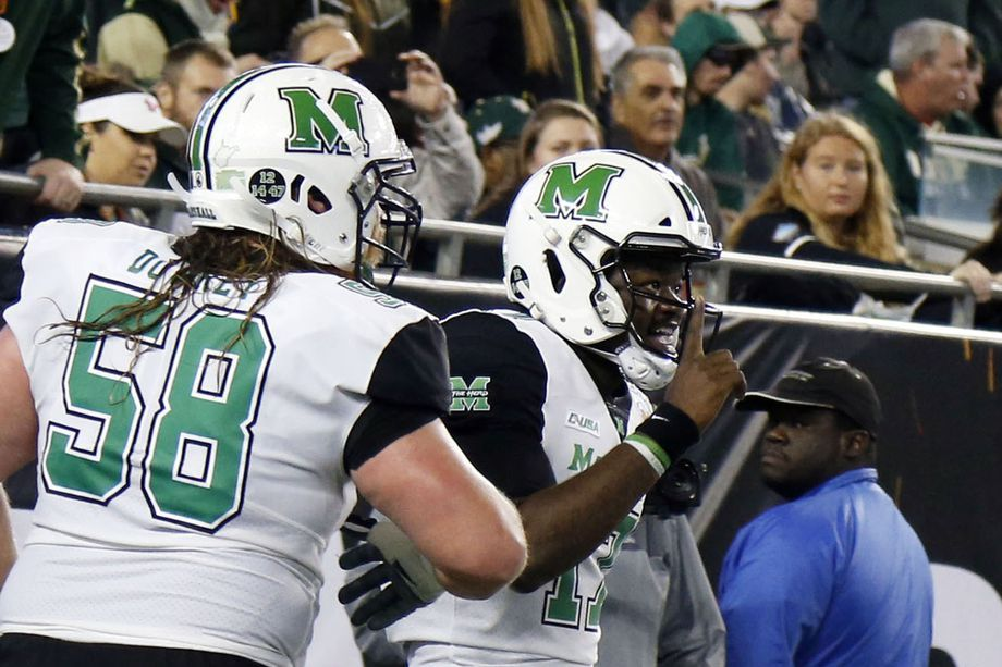 Marshall is a volatile team for a volatile conference