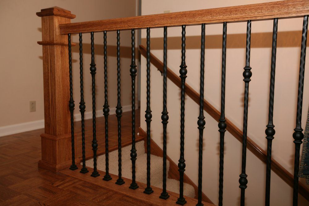 Best Pin By Jessie Pilgrim On House Banisters Stair Banister 400 x 300