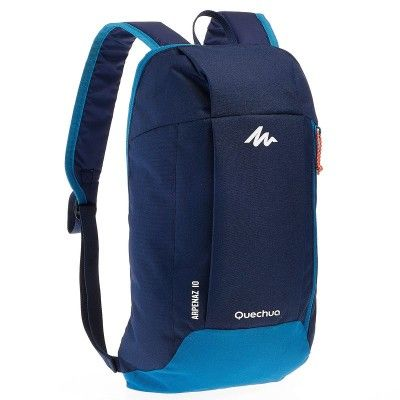Backpacks Bags and Travel Accessories - Arpenaz 10 Hiking Backpack - Blue   Light Blue Quechua - Bags and Travel Accessories b8be512ed9a71