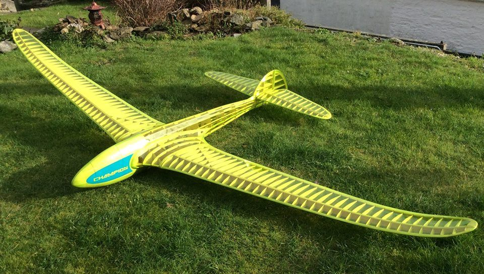 Radio Controlled And Gliding Over >> Belair Vintage Models Fillon Champion Rc Glider Wings Rc Glider