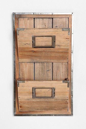 Wall file - reclaimed wood