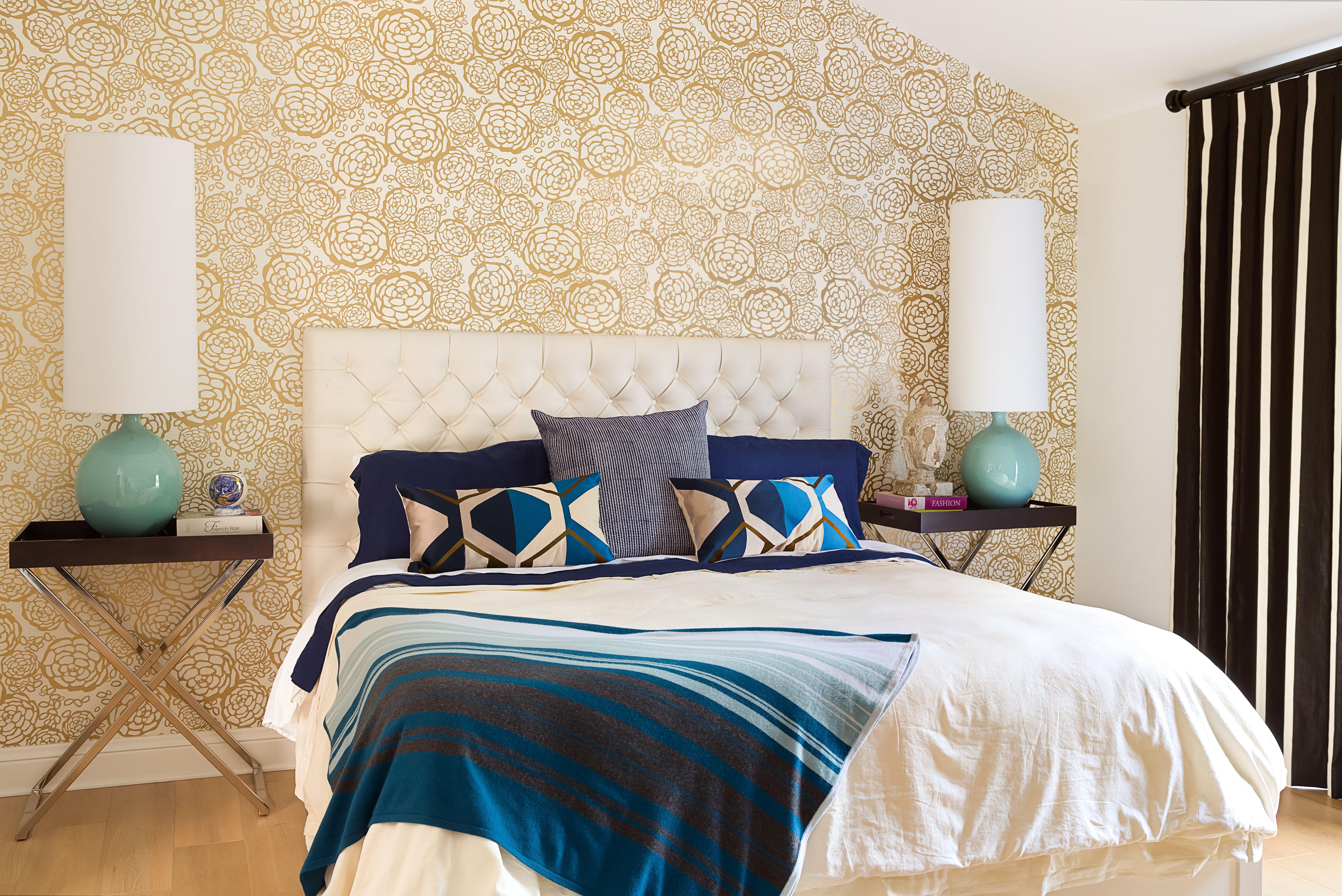 Hygge + West Petal Pusher in Hilltop House master bedroom