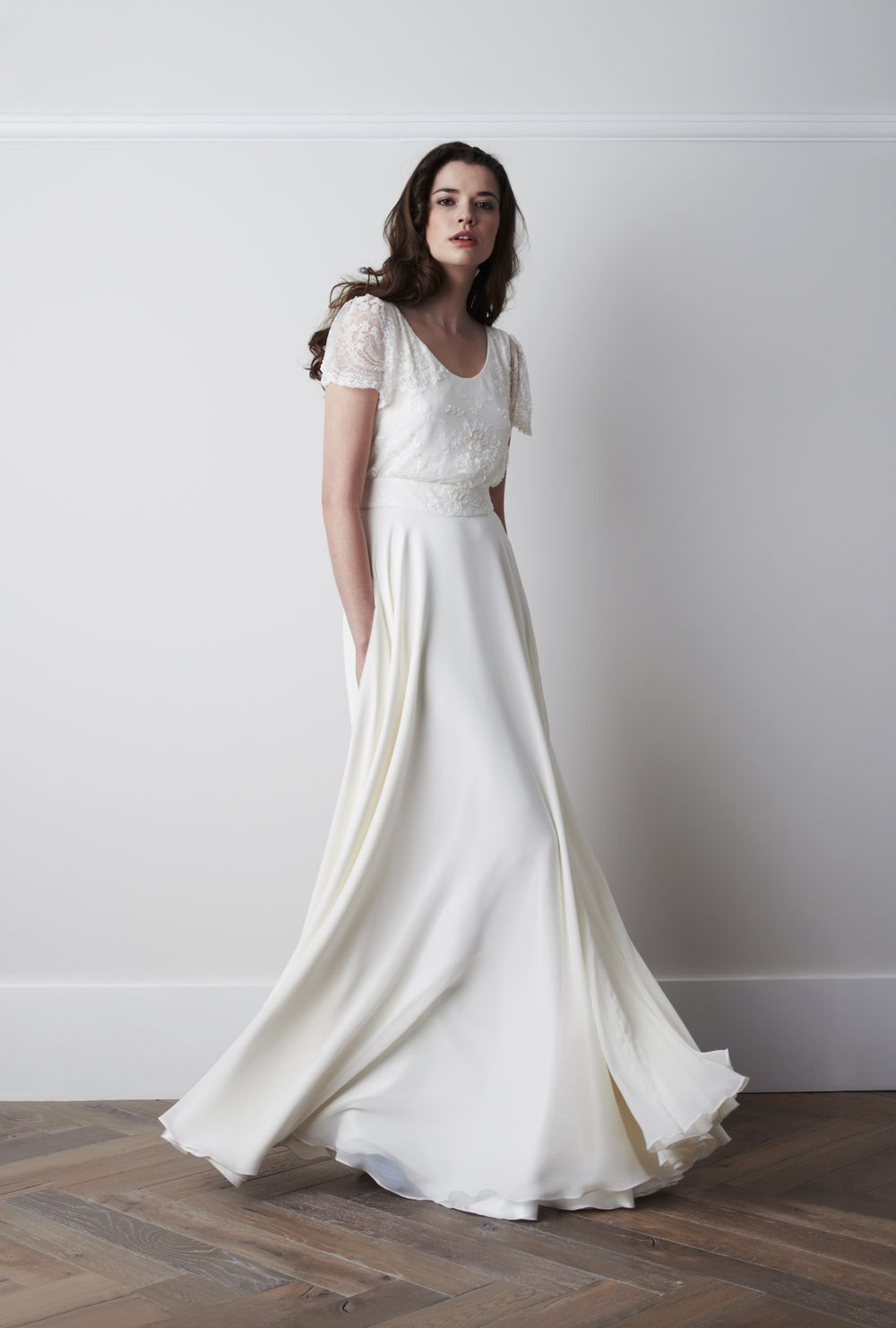 This is another example of dress styling. Just something elegant ...