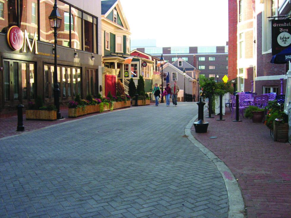 Commercial Shared Street Street Street Design City