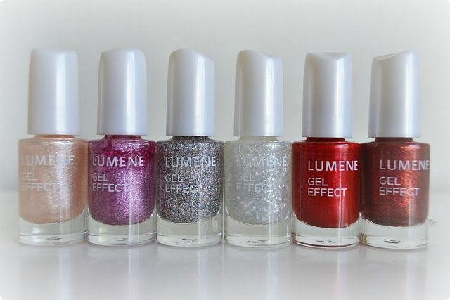 Well hello my little friends, said  beauty blogger Jonna when she first got these adorable Lumene Gel Effect nail polishes in this year's party shades in her hands. Amazing colours, don't you think! #nailpolish #lumene