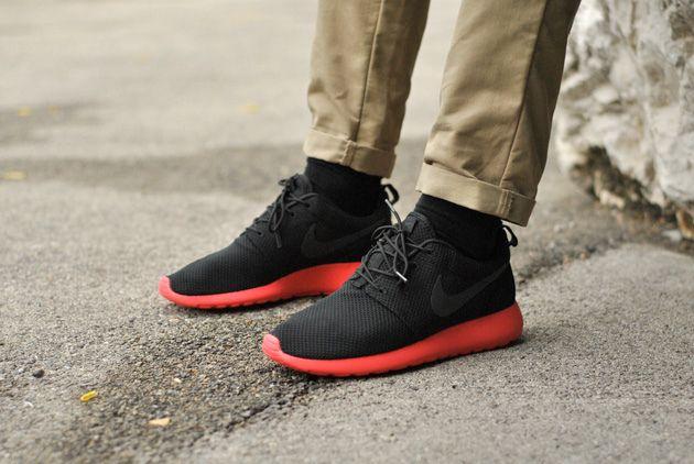 Nike Roshe Run Black ...