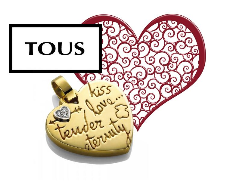 Katerina Perez's Guide for Valentine's Day Gifts under £1,100: TOUS gold pendant with diamonds