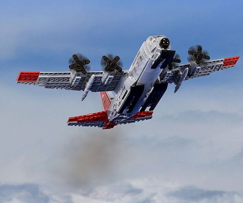 Brickmania is now producing my NY ANG LC-130   Dan Siskind a