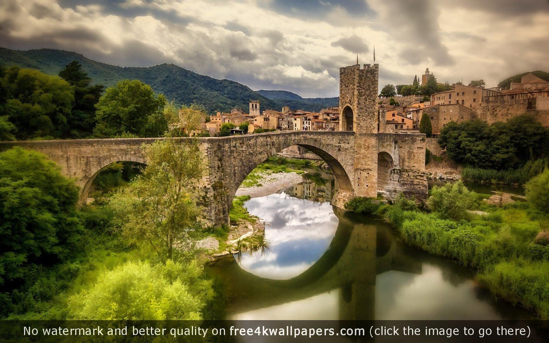 Ancient Town of Besalu Spain